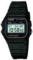 Casio W-59-1vqes Core Retro Alarm Chronograph Plastic Strap Watch, Black/blue