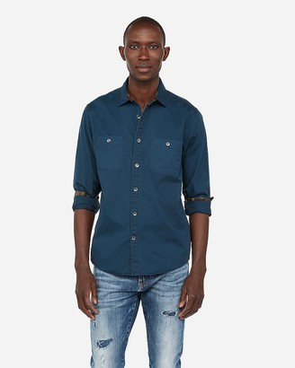 Express Slim Double Pocket Shirt