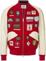 Kent & Curwen patched bomber jacket