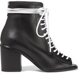 Proenza Schouler Lace-up Leather Ankle Boots