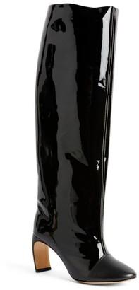 Lanvin Patent Calfskin Leather J Boots 80