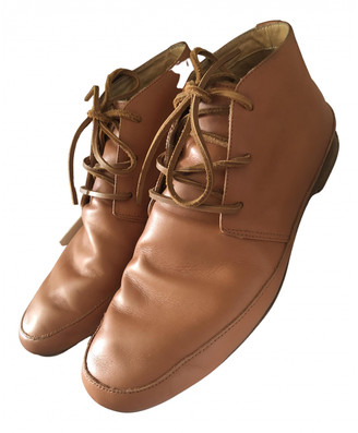 Maison Margiela Camel Leather Boots