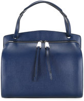 Jil Sander front zip tote - women - Calf Leather - One Size