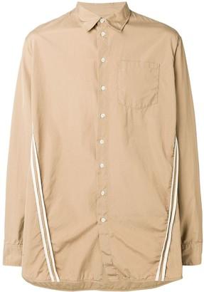 DSQUARED2 Applique Stripes Shirt
