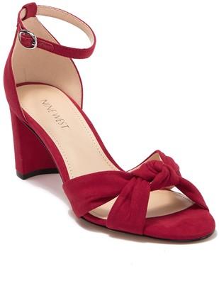 Nine West Paloma Knotted Heeled Sandal