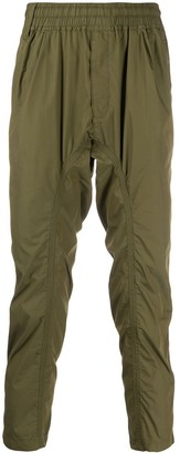 White Mountaineering Easy cropped trousers