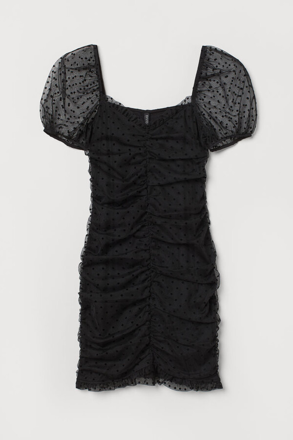 Thumbnail for your product : H&M Gathered Dress - Black