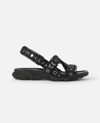 Stella McCartney Black Sandals, Men's