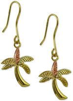 Giani Bernini Palm Tree Drop Earrings, Only at Macy's