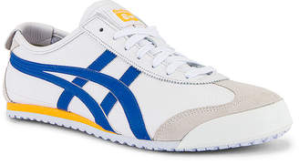 Onitsuka Tiger by Asics Mexico 66 in White & Freedom Blue | FWRD