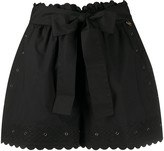 Twin-Set Twin Set embroidered detail shorts