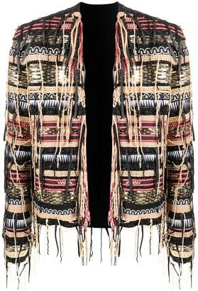 Balmain Embellished Tassel Jacket