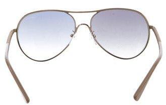 Lanvin Tinted Aviator Sunglasses