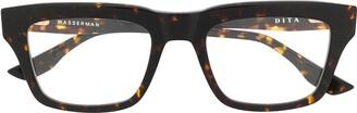 Dita Eyewear Wasserman square-frame glasses