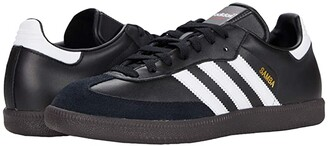 adidas Samba (Black/White/Black) Men's Soccer Shoes