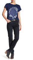Lucky Brand Hayden Coated Skinny Jean