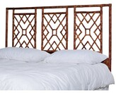 Bungalow Rose Charlack Open-Frame Headboard Size: King, Color: Tortoise Shell