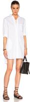Thakoon Lace Up Shirt Dress