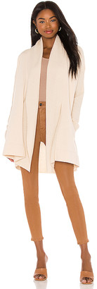 Splendid French Terry and Sweater Mix Cardigan