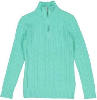 Ralph Lauren Green Cashmere Knitwear