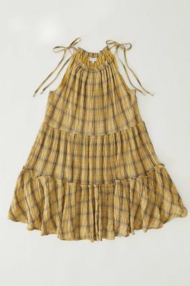 Moon River Tiered Ruffle Mini Dress