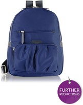 Radley Primrose Street Large Ziptop Backpack - Navy