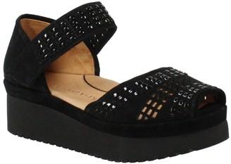 L'Amour des Pieds Peep Toe Platform Sandals - Amalsinda