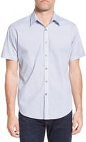 James Campbell Sturgis Regular Fit Short Sleeve Shirt