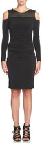 Cynthia Steffe Karen Cold Shoulder Sheath Dress