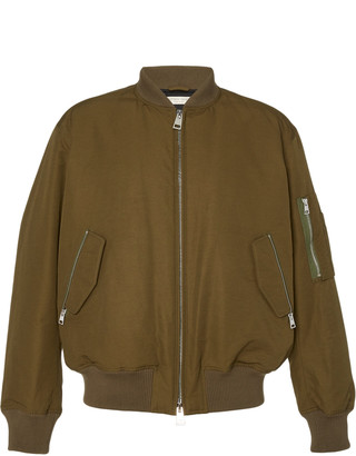 Bottega Veneta Shell Bomber Jacket