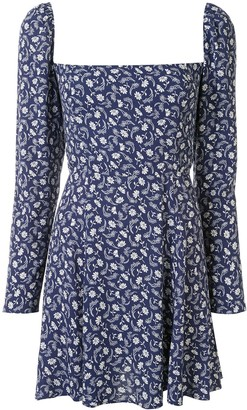 Reformation Sidecar floral-print mini-dress