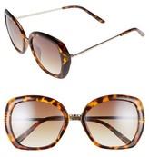 BP Women's Butterfly Sunglasses - Brown Tort