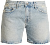Current/Elliott The Rolled Boyfriend mid-rise shorts