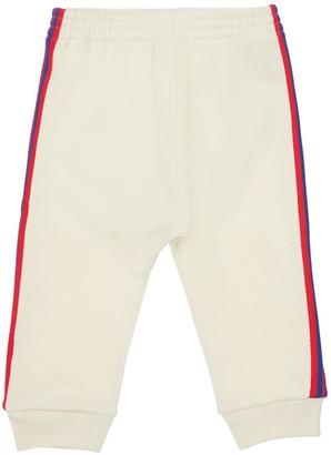 Gucci Cotton Sweatpants W/ Ribbon