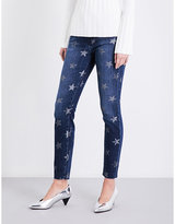 Current/Elliott The Highwaist Ankle Skinny skinny high-rise jeans
