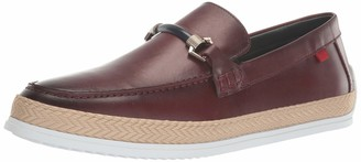 Marc Joseph New York Men's Leather Luxury Deck Shoe with Bit Buckle/Rope Detail Boat