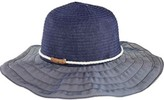 San Diego Hat Company Women's Ribbon Sun Hat with Rope Band RBL4787