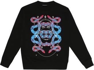 Marcelo Burlon County of Milan Kids Of Milan Snakes cotton-blend sweatshirt