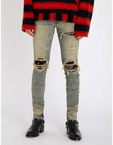Amiri Bandana slim-fit skinny jeans