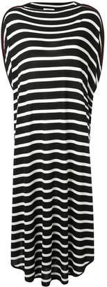 MM6 MAISON MARGIELA long striped dress