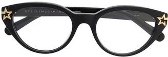 Stella McCartney Eyewear star detailed glasses