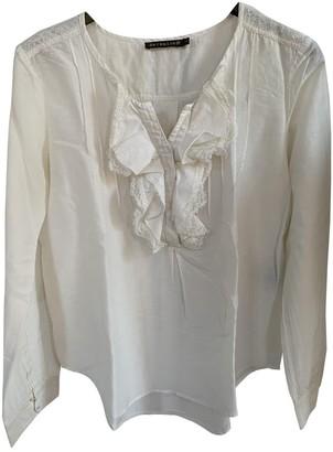 Berenice Ecru Cotton Top for Women