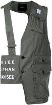 Undercover utility vest top