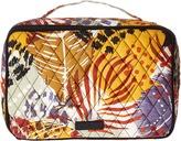 Vera Bradley Luggage Large Blush & Brush Makeup Case