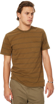 Brixton Hilt Washed Ss Mens Pocket Tee Green