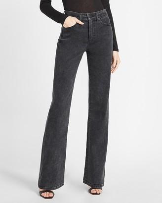 Express High Waisted Black Bootcut Jeans