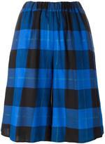 MM6 MAISON MARGIELA checked skirt