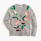 J.Crew Girls' wool cardigan sweater in sushi garden