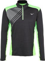 Mizuno Venture Long Sleeved Top Black/green Gecko
