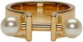 Chloé Gold Darcey Bar Ring